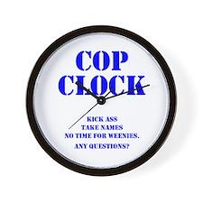 Cop Clock