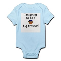I'm going to be a big brother Infant Creeper