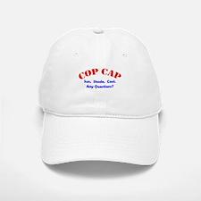 Cop Baseball Baseball Cap