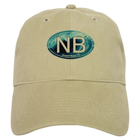 NB Newport Beach Wave Oval Cap