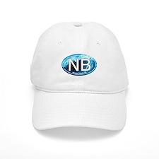 NB Newport Beach Wave Oval Baseball Cap