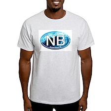 NB Newport Beach Wave Oval T-Shirt