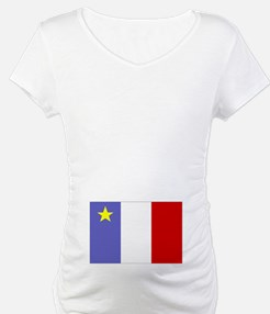 Acadian Flag (2-sided) Shirt