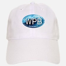 WPB West Palm Beach Wave Oval Baseball Baseball Cap