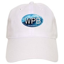 WPB West Palm Beach Wave Oval Baseball Cap