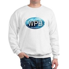 WPB West Palm Beach Wave Oval Sweatshirt