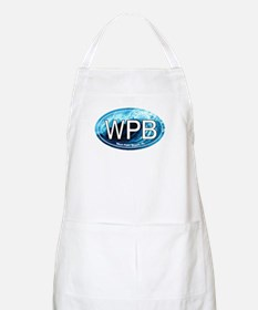 WPB West Palm Beach Wave Oval BBQ Apron
