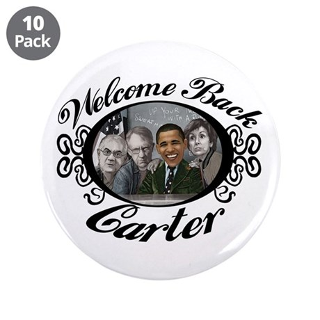 "Welcome Back Carter 3.5"" Button (10 pack)"