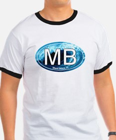 MB Miami Beach Wave Oval T