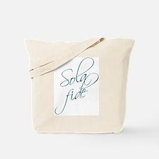 Sola Fide Tote Bag
