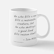 Milton on Books Mug