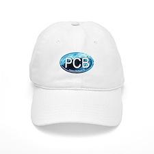 PCB Panama City Beach Oval Baseball Cap