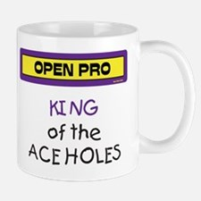 King of the Ace Holes Mug (Purple and Yellow)