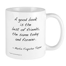 Tupper on Books II Mug
