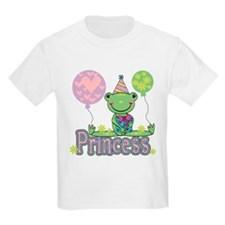 Frog Princess Birthday T-Shirt