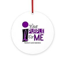 I Wear Purple For Me 9 PC Ornament (Round)