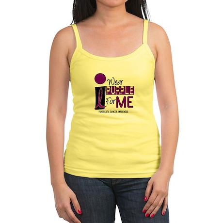 I Wear Purple For Me 9 PC Jr. Spaghetti Tank