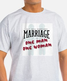Marriage is Ash Grey T-Shirt
