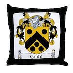 Codd Coat of Arms Throw Pillow