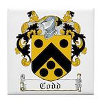 Codd Coat of Arms Tile Coaster