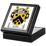 Codd Coat of Arms Keepsake Box