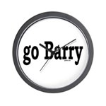 go Barry Wall Clock