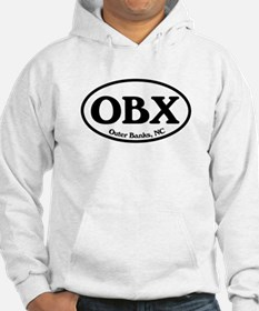 OBX Outer Banks, NC Oval Hoodie