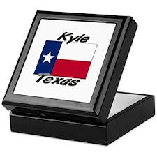 Kyle Texas Keepsake Box