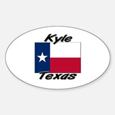 Kyle Texas Oval Decal