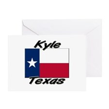 Kyle Texas Greeting Card