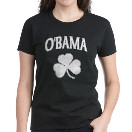 Irish Obama Women's Dark T-Shirt