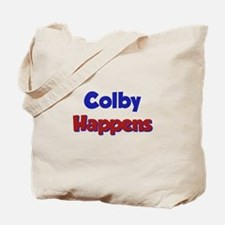 Colby Happens Tote Bag