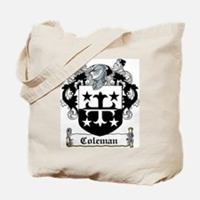 Coleman Coat of Arms Tote Bag