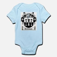 Coleman Coat of Arms Infant Creeper