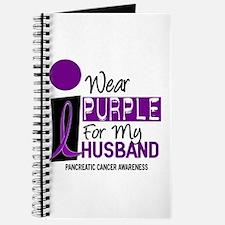 I Wear Purple For My Husband 9 PC Journal