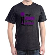 I Wear Purple For My Husband 9 PC T-Shirt