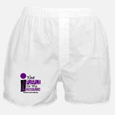 I Wear Purple For My Husband 9 PC Boxer Shorts