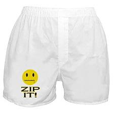 Zip It! Boxer Shorts