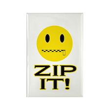 Zip It! Rectangle Magnet