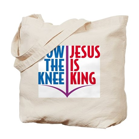Bow the Knee Tote Bag