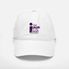 I Wear Purple For My Daddy 9 PC Baseball Baseball Cap