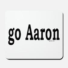 go Aaron Mousepad