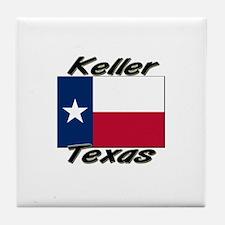 Keller Texas Tile Coaster
