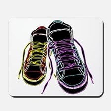 Neon Sneakers Mousepad