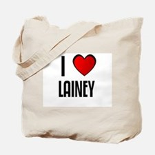 I LOVE LAINEY Tote Bag