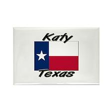 Katy Texas Rectangle Magnet