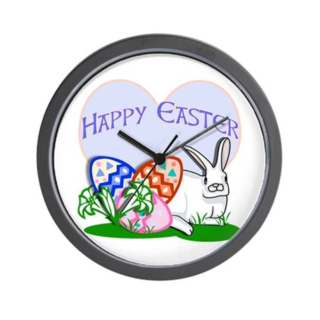 Happy Easter!! Wall Clock