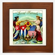 Cute American history Framed Tile