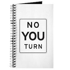 """""""NoYouTurn"""" Journal"""
