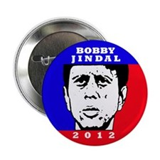 """Bobby Jindal 2012 2.25"""" Button (10 pack)"""